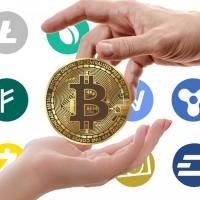 Cryptocurrency exchange for points